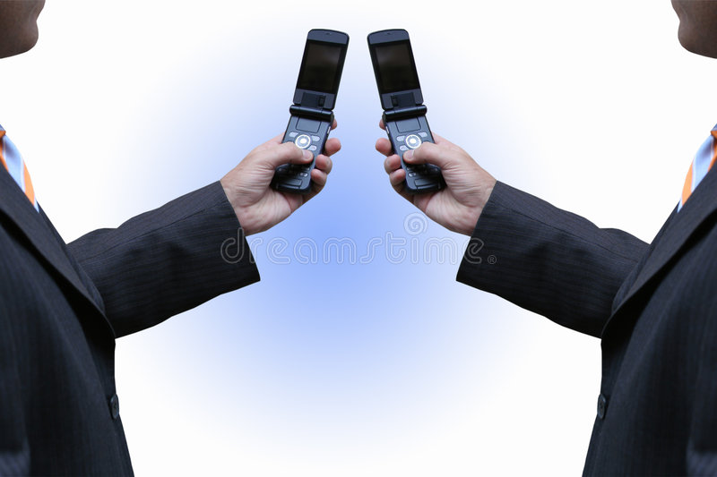 Download Dealing with cellphones stock photo. Image of call, bank - 2316334