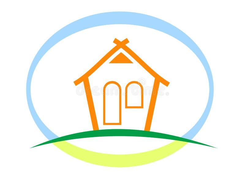 Deam Hausabbildung lizenzfreie abbildung