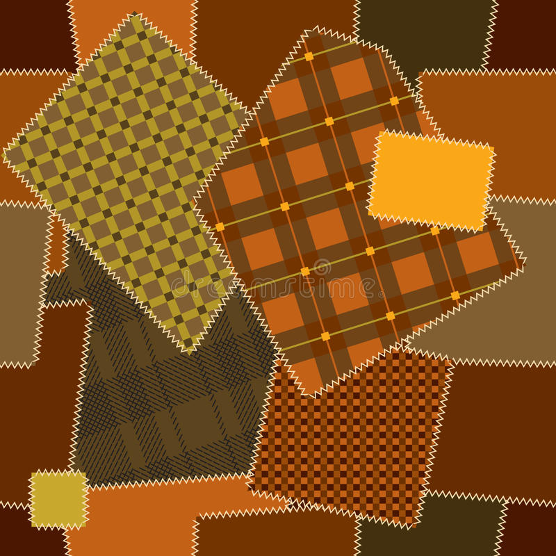 Download Deamless Pattern Of Quilt Patchwork Stock Image - Image: 21754241