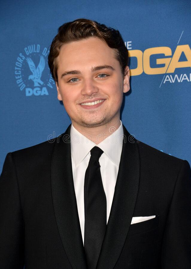 Dean-Charles Chapman. LOS ANGELES, USA. January 25, 2020: Dean-Charles Chapman at the 72nd Annual Directors Guild Awards at the Ritz-Carlton Hotel..Picture: Paul royalty free stock photography