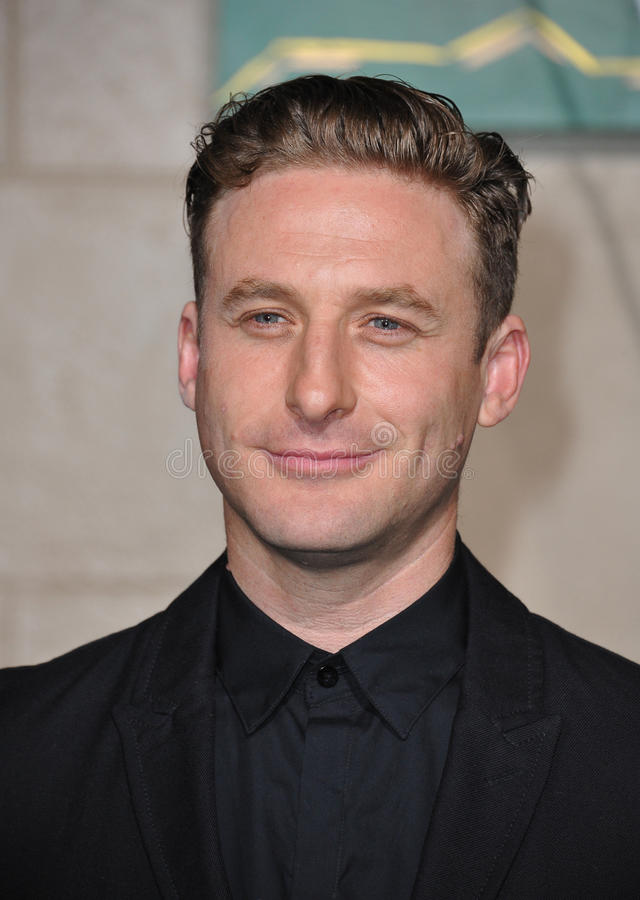 Dean O'Gorman. LOS ANGELES, CA - DECEMBER 9, 2014: Dean O'Gorman at the Los Angeles premiere of his movie The Hobbit: The Battle of the Five Armies at the Dolby royalty free stock photo