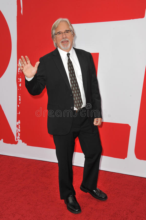Dean Parisot. LOS ANGELES, CA - JULY 11, 2013: Director Dean Parisot at the Los Angeles premiere of his new movie Red 2 at the Westwood Village Theatre stock image