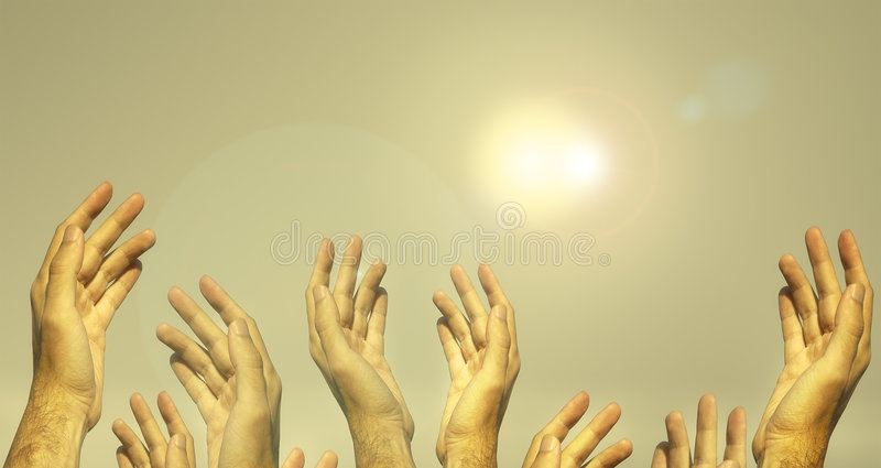 Download Dear Lord!(special f/x) stock illustration. Image of hope - 1221842