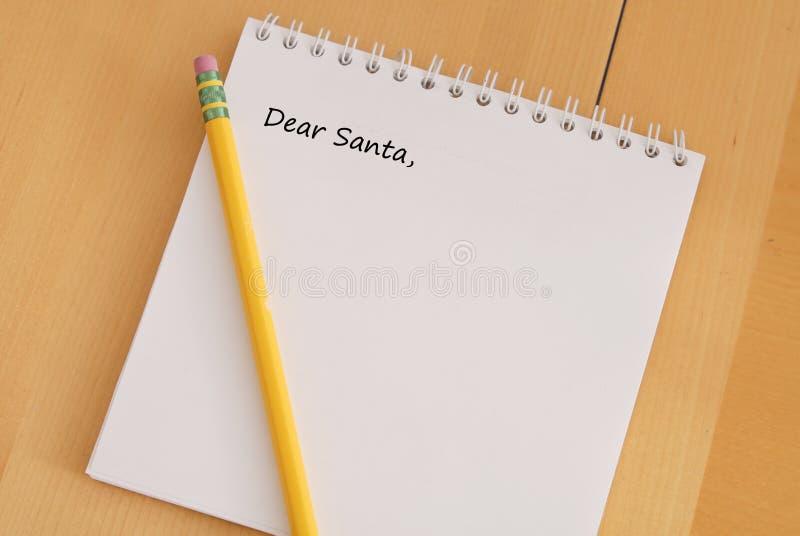 Dear Santa Stock Images