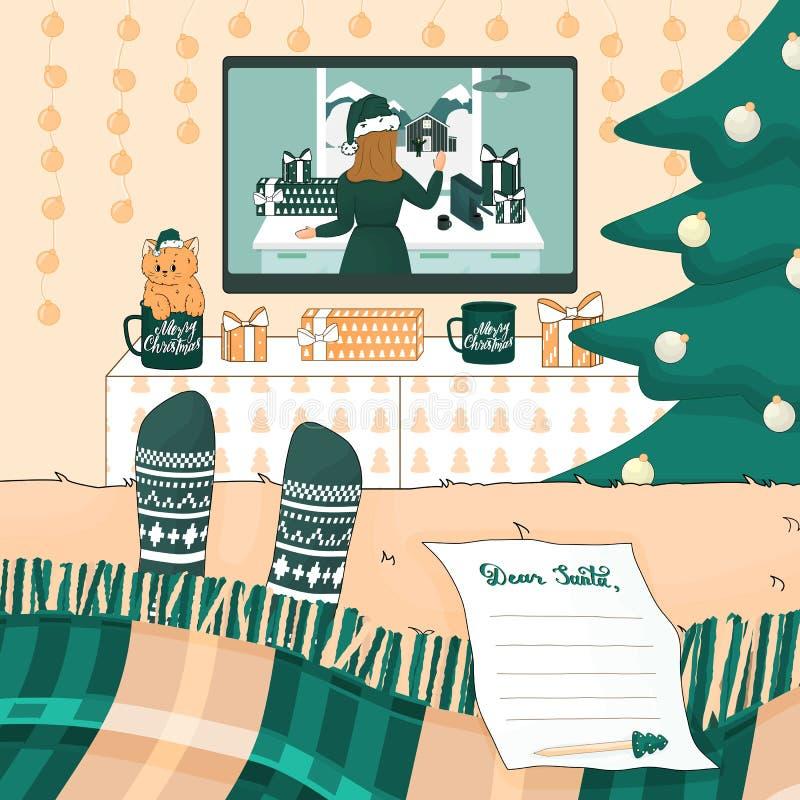 Santa List Stock Illustrations 4 258 Santa List Stock Illustrations Vectors Clipart Dreamstime