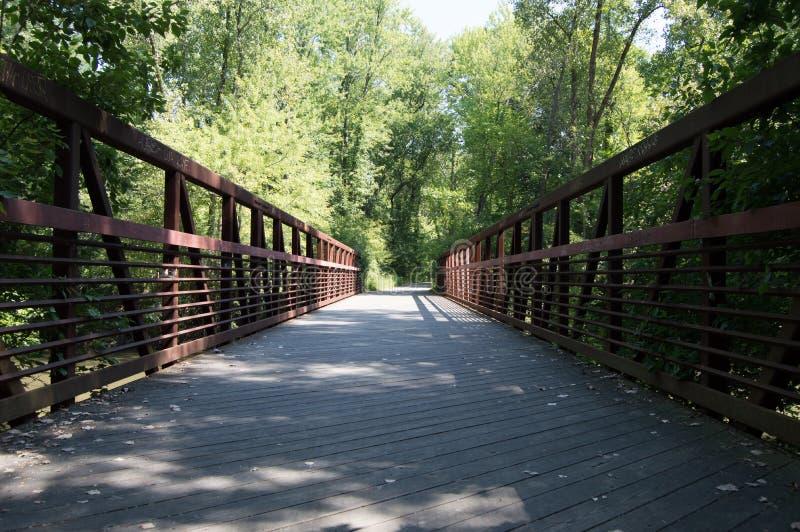 Dearborn Bridge royalty free stock photography