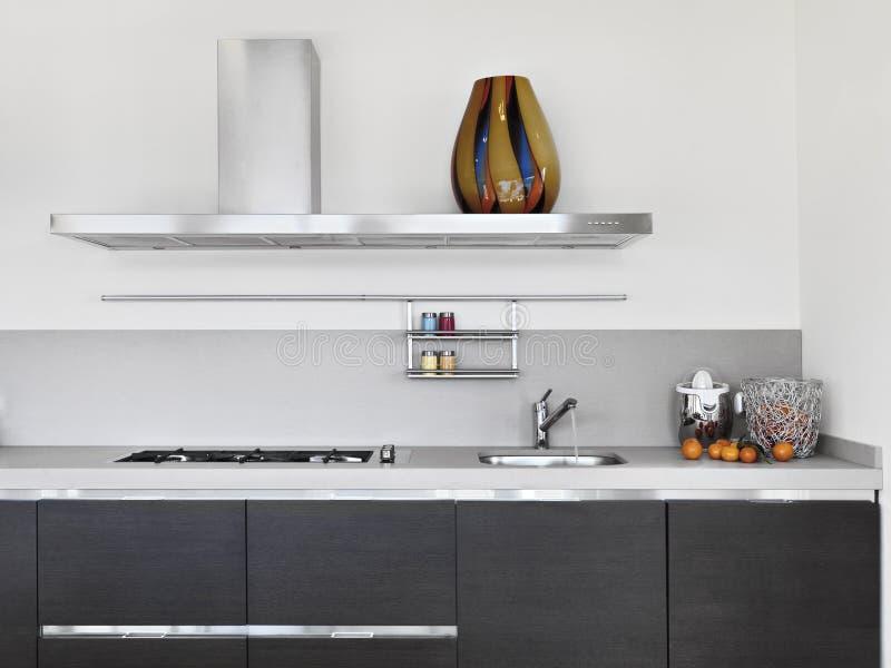 Deatail της σύγχρονης κουζίνας στοκ εικόνες