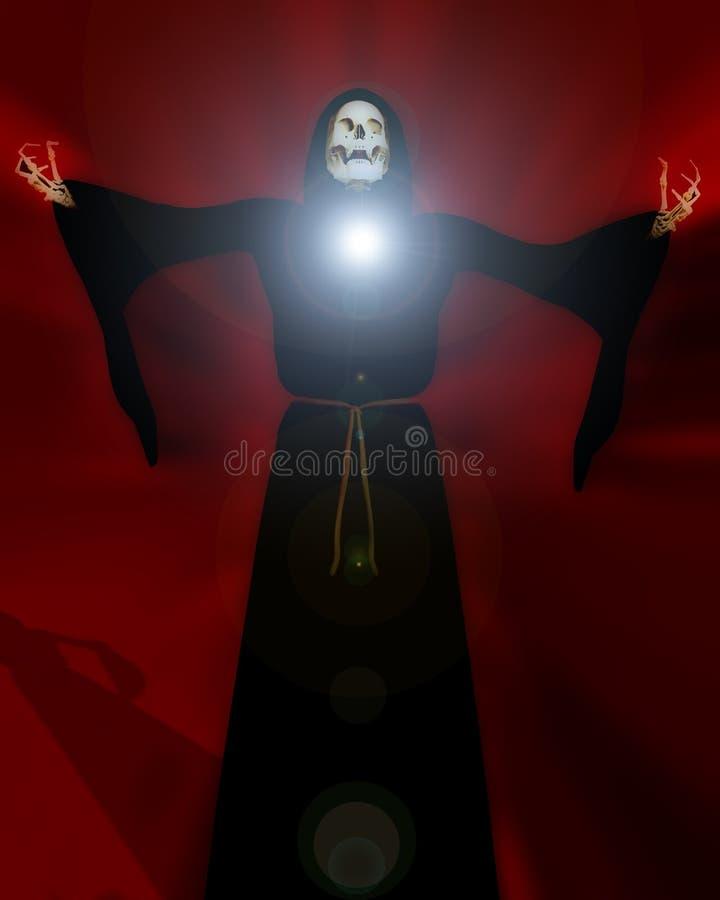 Download Death 55 stock illustration. Image of anatomy, frightening - 2814863
