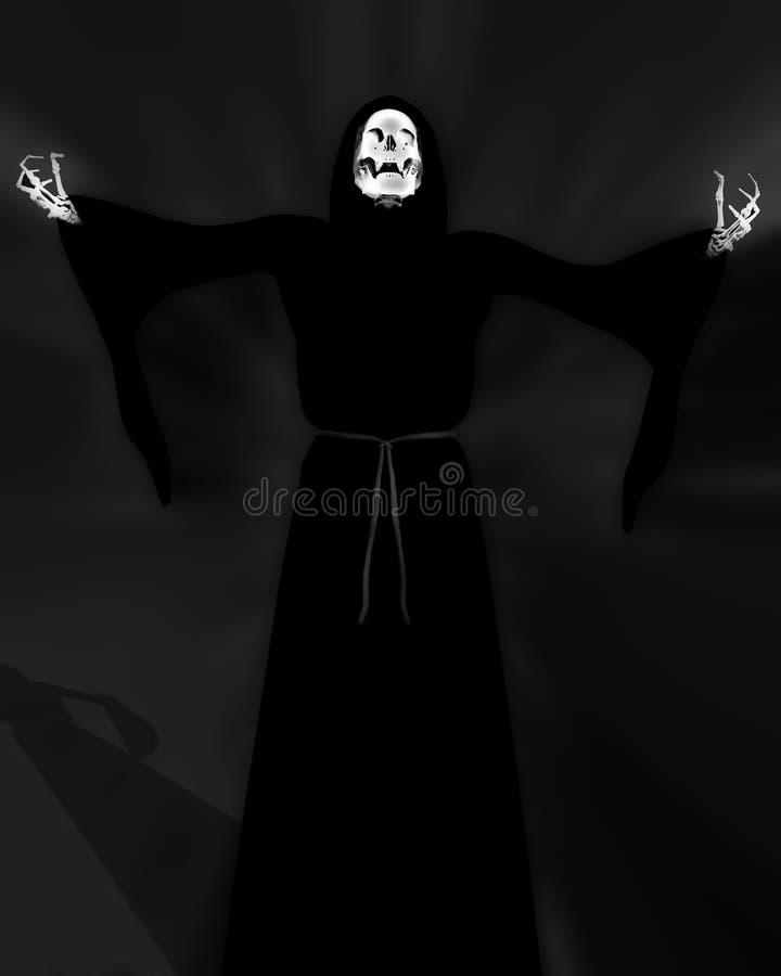 Download Death 58 stock illustration. Image of sockets, skull, frightening - 2814864