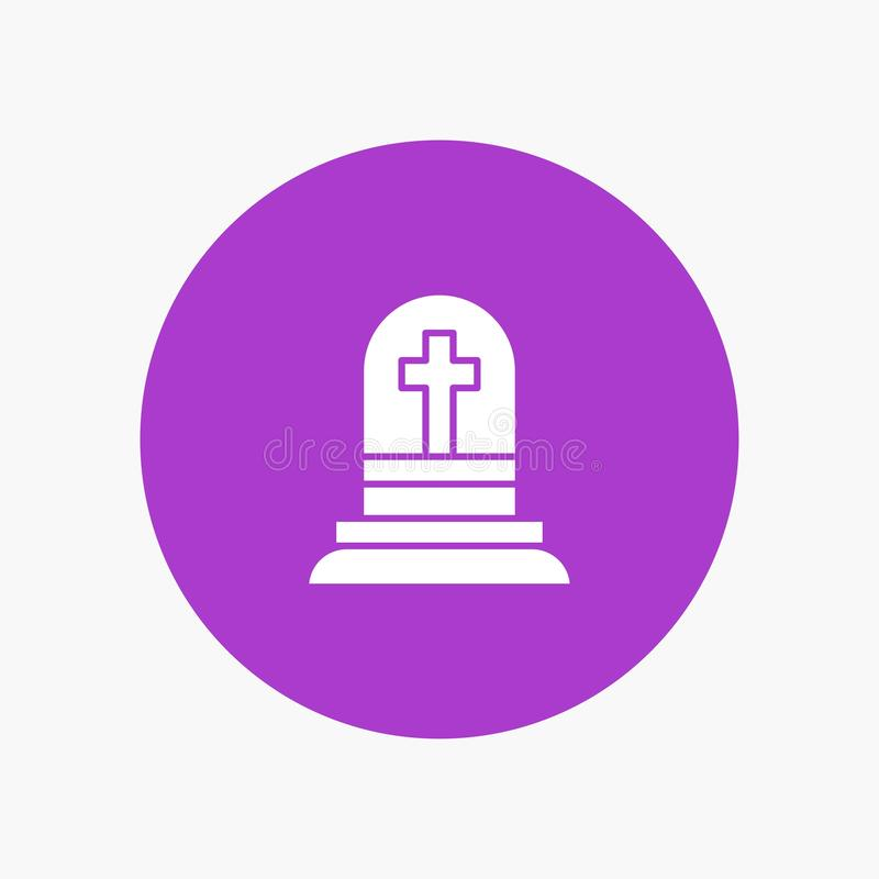 Death, Grave, Gravestone, Rip stock illustration