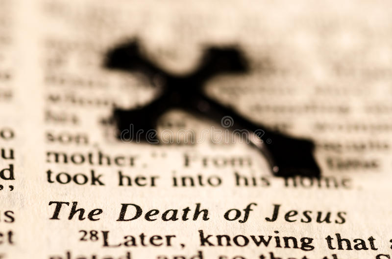 The Death of Jesus.. stock photos