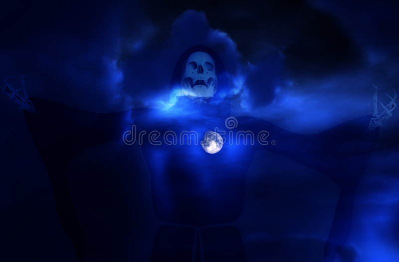 Download Death And Moon 5 Royalty Free Stock Photo - Image: 2835985