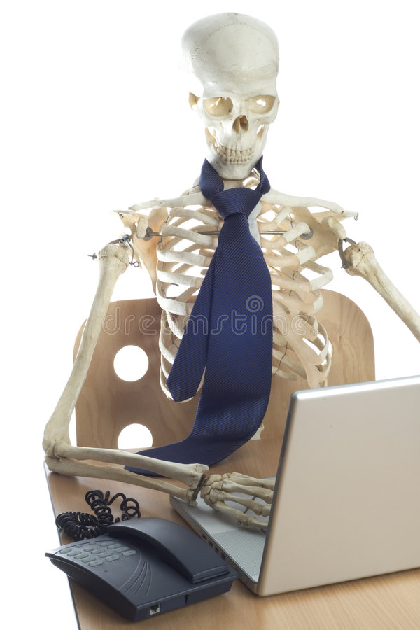 Death by Overwork 2 royalty free stock photo