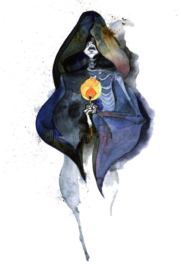 Death royalty free illustration