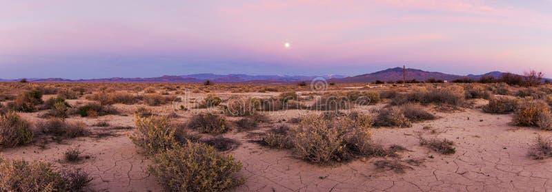 Death Valley à l'aube photo stock