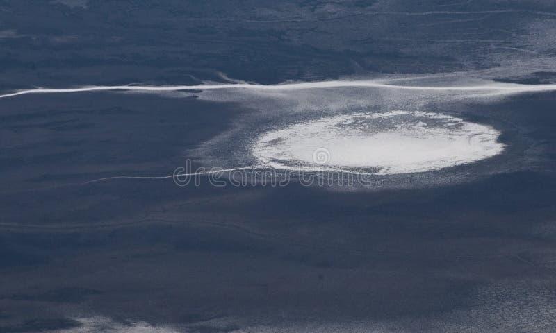 Death Valley - таз badwater стоковая фотография