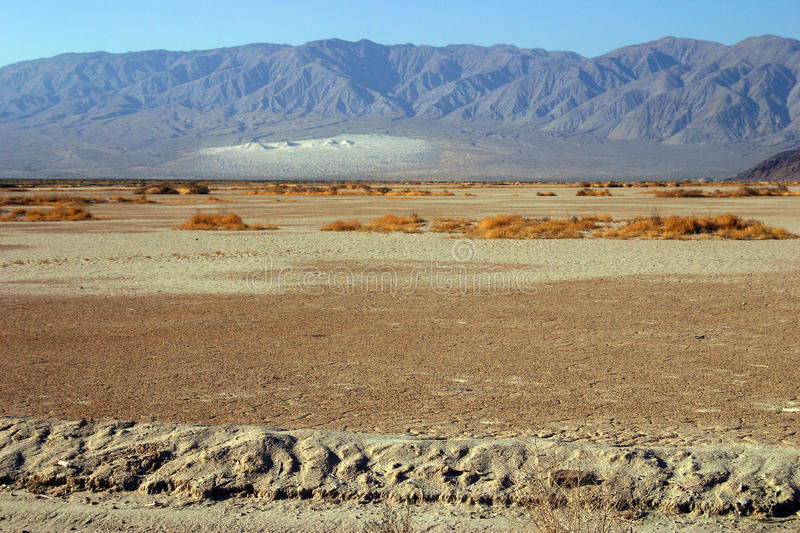 Death Valley. Different landscapes of the Death Valley National Park stock photography