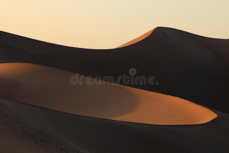 Death Valley. Is a desert valley located in Eastern California royalty free stock photo