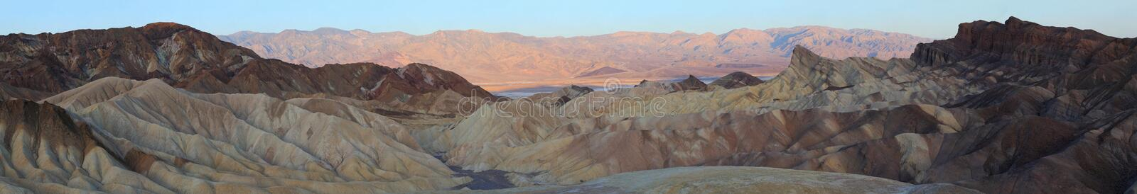 Death Valley. Is a desert valley located in Eastern California royalty free stock photography
