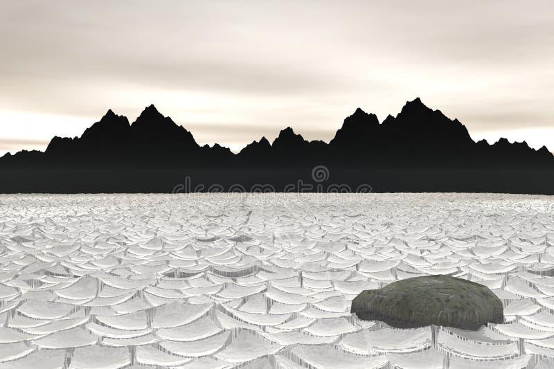 Death Valley vektor illustrationer