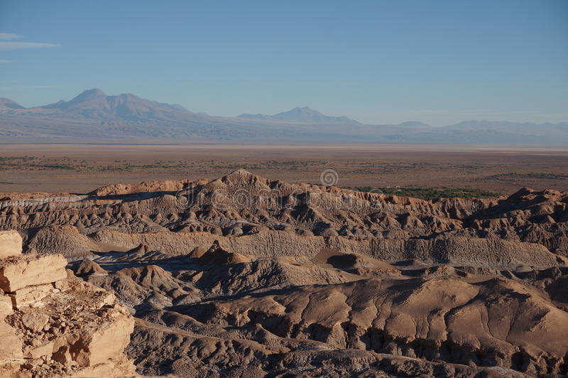 Death Valley Atacama öken, Chile royaltyfria bilder