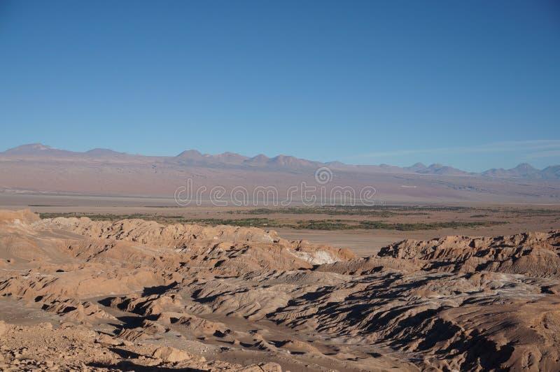 Death Valley, Atacama Desert, Chile royalty free stock photo