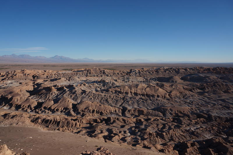 Death Valley, Atacama Desert, Chile royalty free stock photo