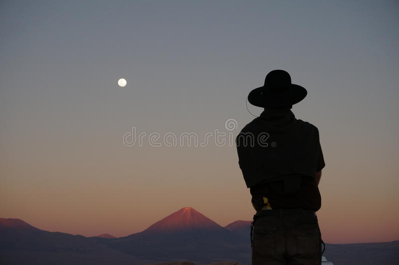 Death Valley, Atacama Desert, Chile stock photo