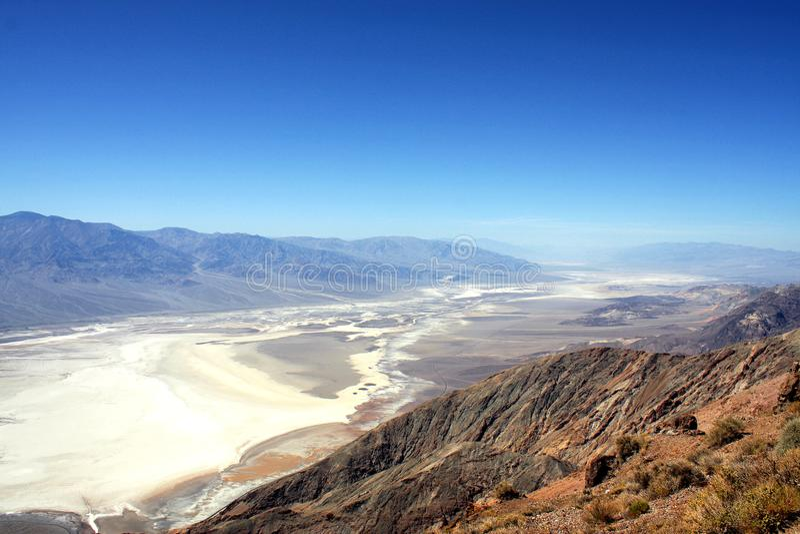 Death Valley - Bergblick lizenzfreies stockbild