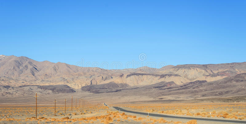 Death Valley,CA royalty free stock photography