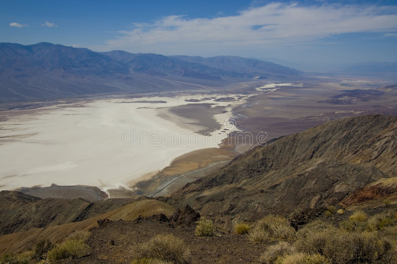 Death Valley in California royalty free stock images