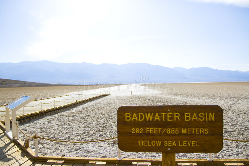 Death Valley in California royalty free stock image