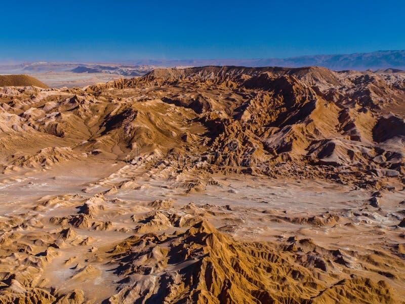 Death Valley cerca de San Pedro de Atacama fotos de archivo
