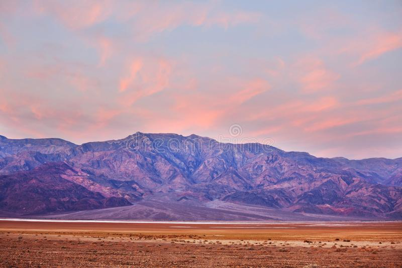 Death Valley. National Park, California royalty free stock photo