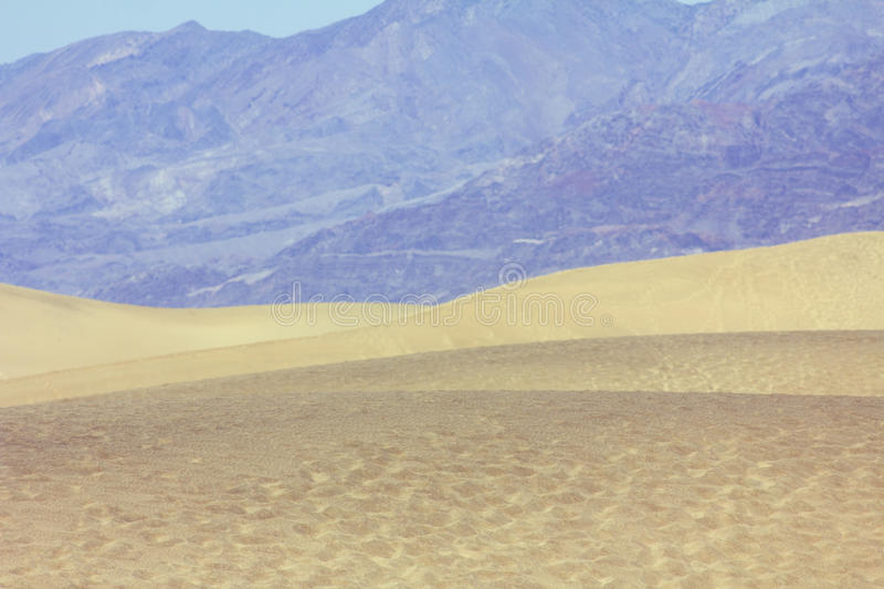Death Valley dunes stock photography