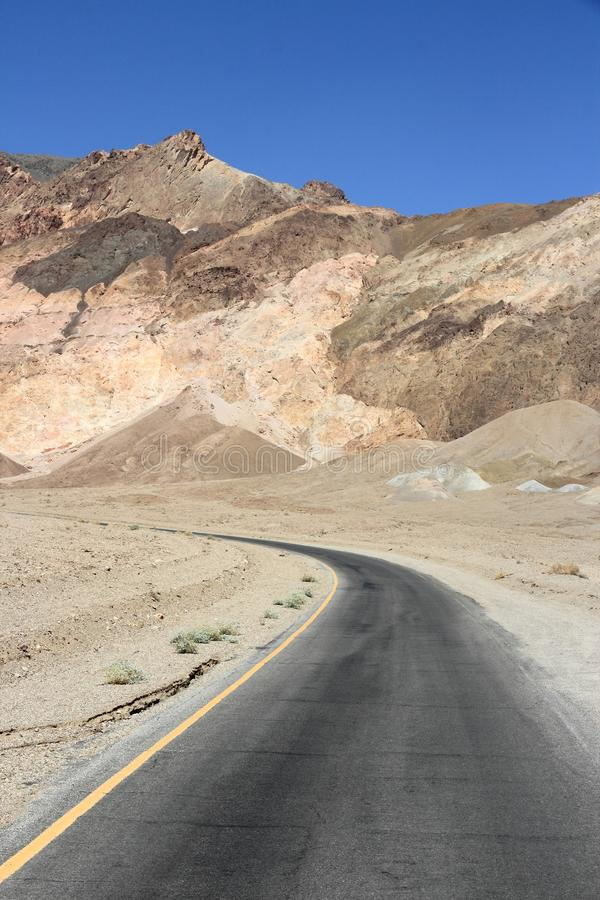 Death Valley, la Californie images libres de droits