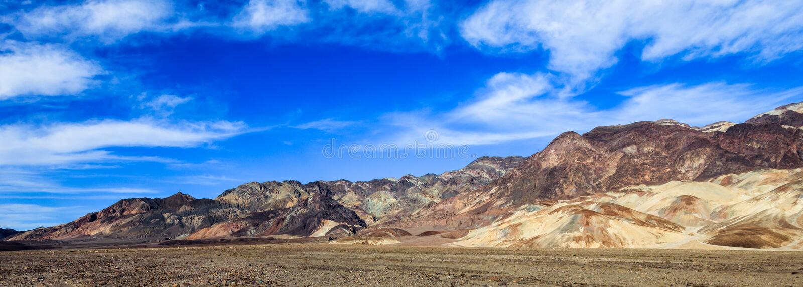 Death Valley Mountains royalty free stock images