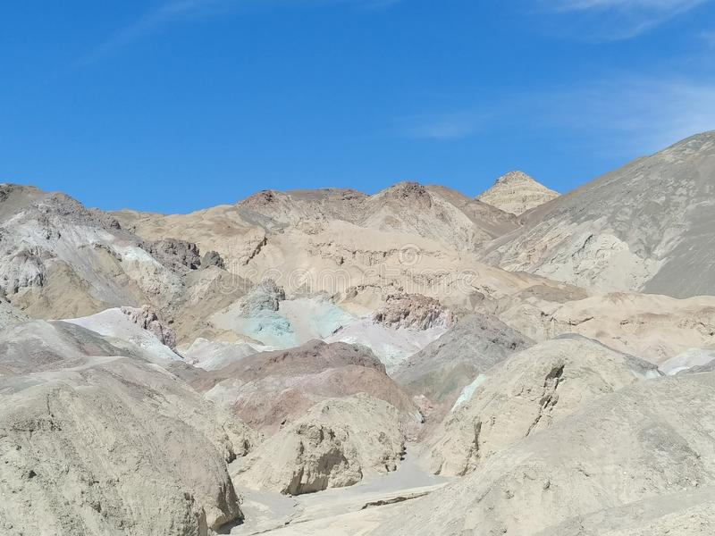 Death Valley National Park Artists Palette royalty free stock photo