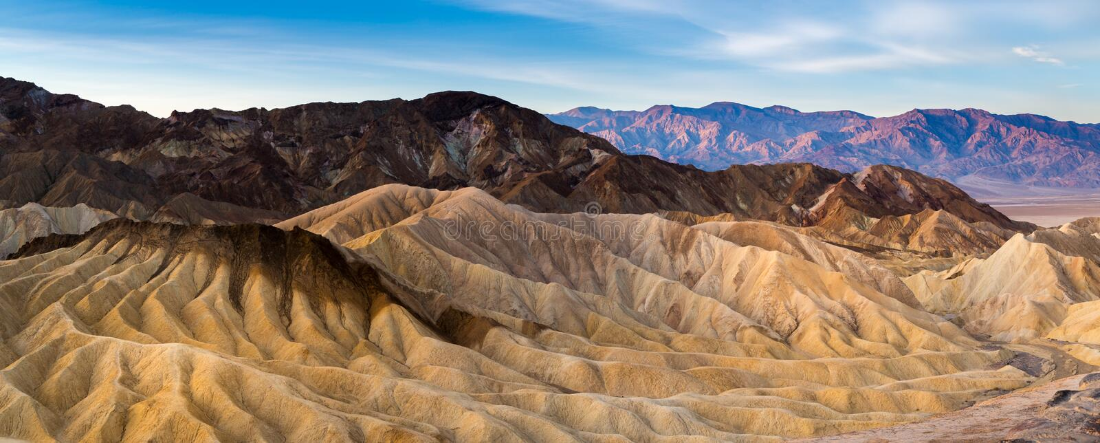 Death Valley National Park. In California royalty free stock photography