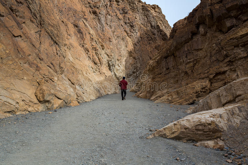 Death Valley National Park. In California stock image