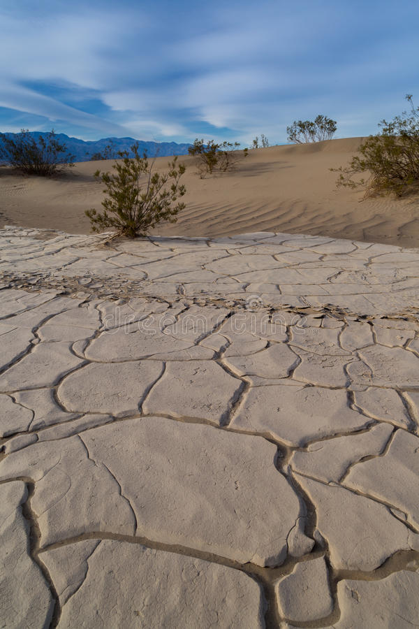 Death Valley National Park. In California stock photo