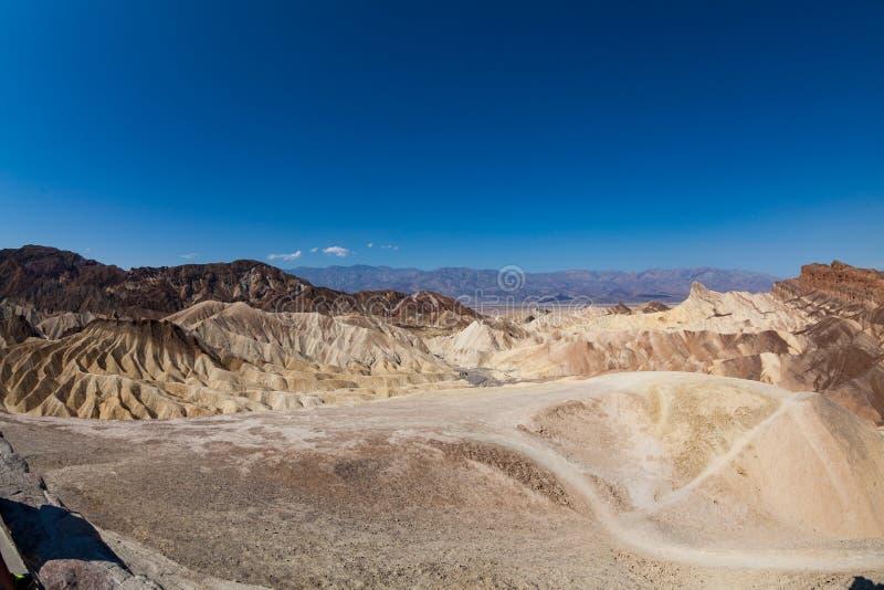 Death Valley National Park. Zabriskie Point, Death Valley National Park royalty free stock photo