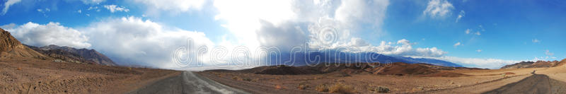 Download Death Valley panorama stock image. Image of earth, arid - 19198013
