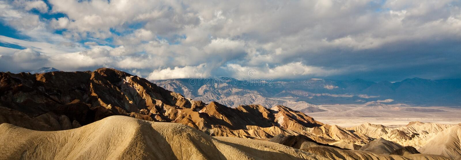 Download Death Valley Peaks stock image. Image of light, cloud - 9801045