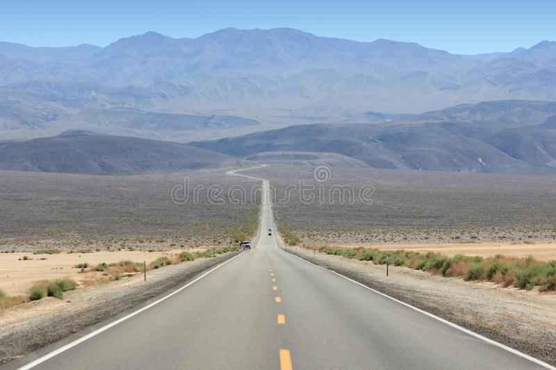 Download Death Valley road stock photo. Image of county, mountains - 41060284