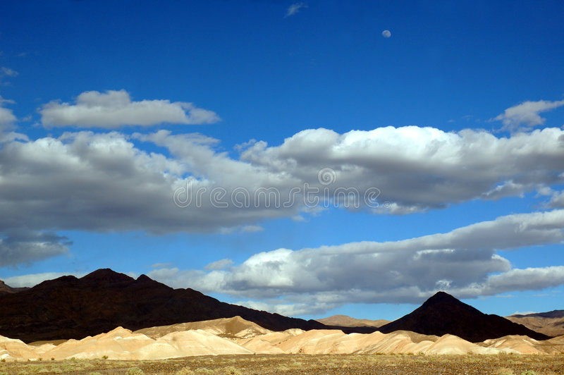 Death Valley Storm Clouds Stock Photos