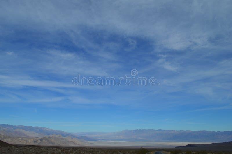 Death Valley utsikt fotografering för bildbyråer