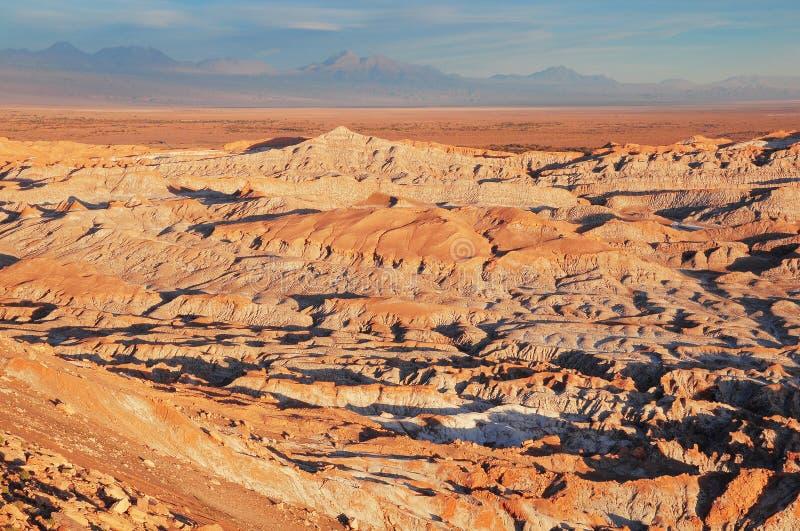 Death Valley (Valle de Muerte) en el desierto de Atacama foto de archivo
