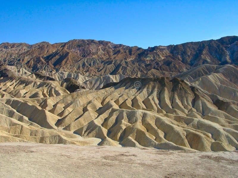 Death Valley: Zabriskie Point stock photo