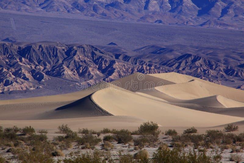 Death- ValleySanddüne lizenzfreies stockfoto